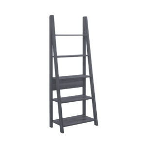 Toddny Ladder Bookcase Black