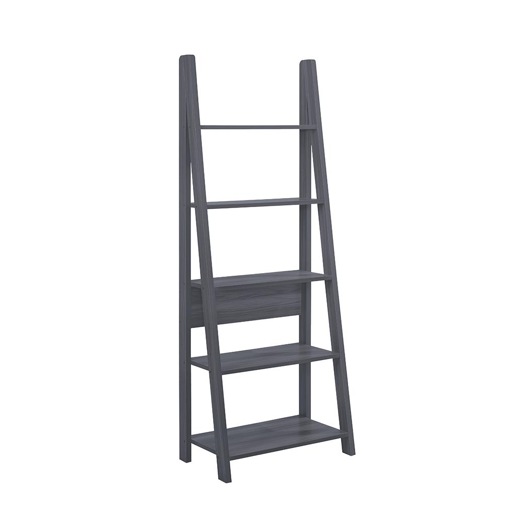 Toddny Ladder Bookcase Black