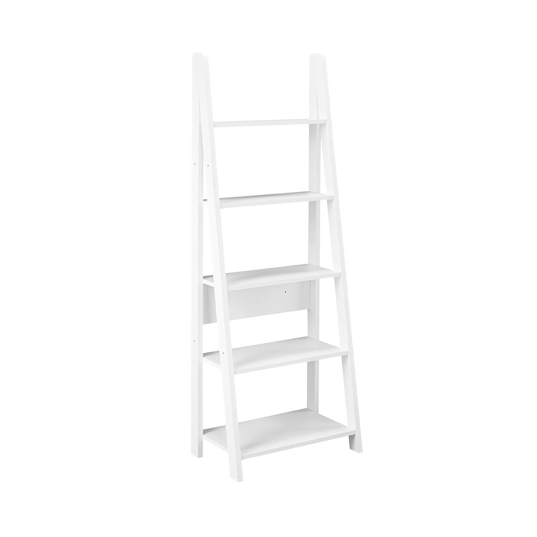 Toddny Ladder Bookcase White