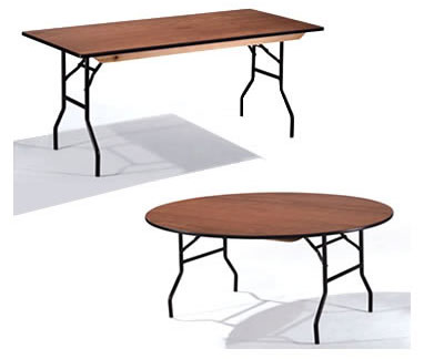 Arnos Banqueting Tables - Round And Square Folding Trestle Table Commercial Quality