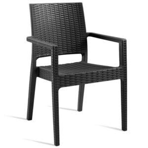Phonetician Wicker Weave Arm Chair