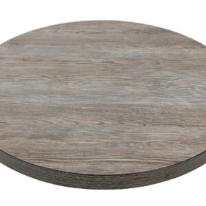 Vason Vintage Wood Round 60Cm Table Top Commercial Quality