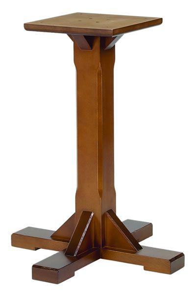 Chicago Single Pedestal Beech Base
