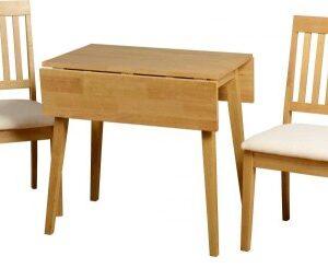 Wankara Oak Rectangle Extending Table And 2 Chairs